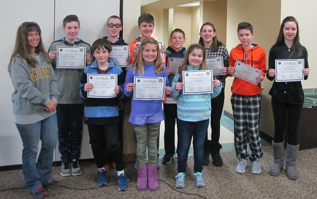 St. Isaac Jogues School Geographic Bee Hinsdale Illinois